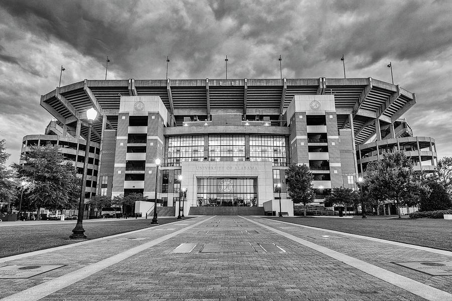 Alabama Photograph - Bryant - Denny Stadium -- Walk of Champions by Stephen Stookey