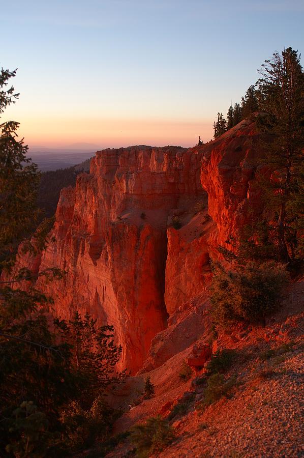 Landscape Photograph - Bryce At Sunrise by Tena Owen