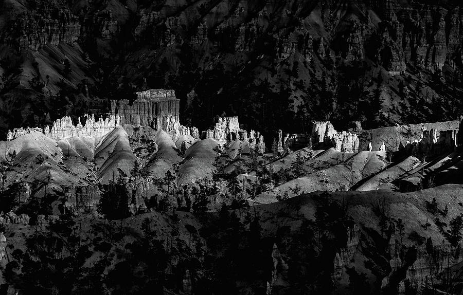 Bryce Canyon National Park 3BW  by Don Risi
