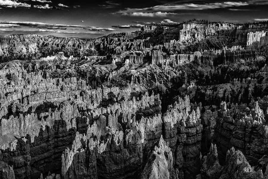 Bryce Canyon National Park 4BW  by Don Risi