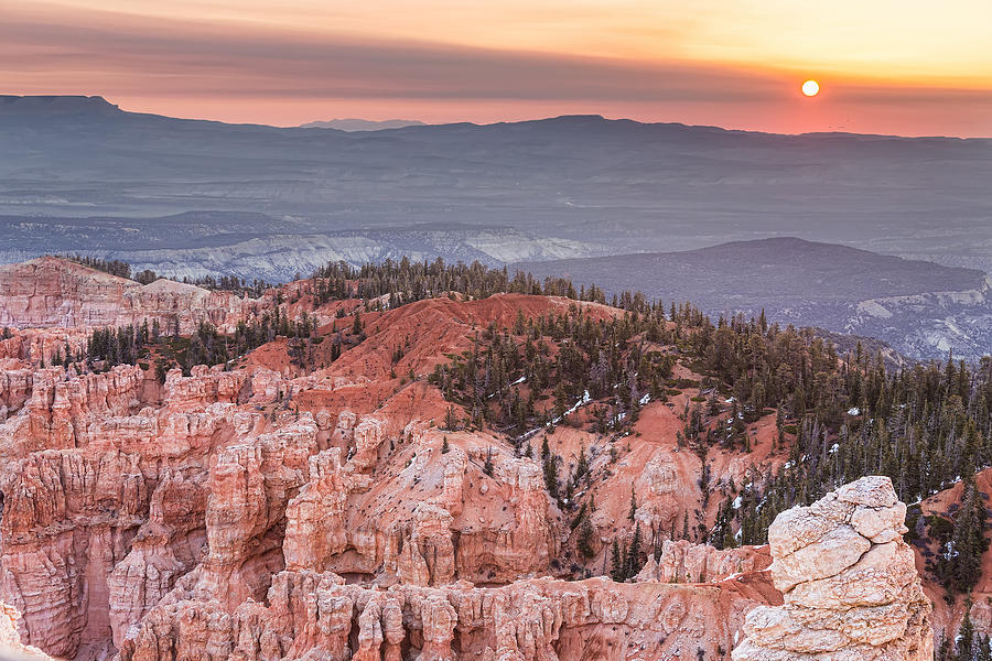 Bryce Canyon Sunrise Photograph