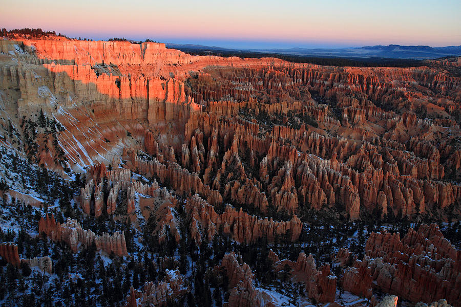 Bryce Photograph - Bryce Canyon Sunrise by Pierre Leclerc Photography