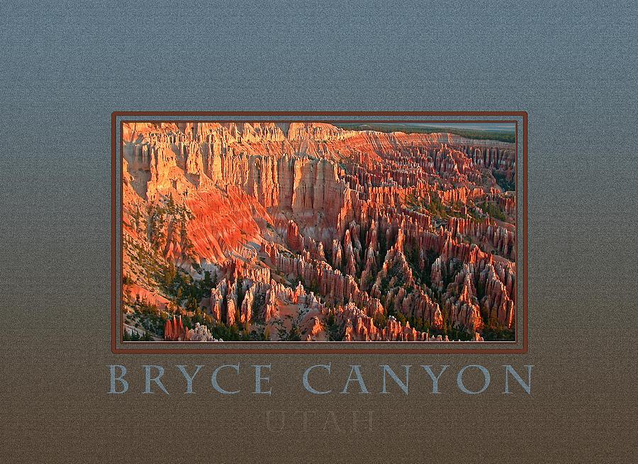 Bryce Canyon Photograph - Bryce Canyon Utah by Patricia Whitaker