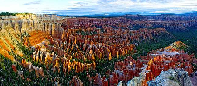 Inspiration Point Photograph - Bryce Canyon Utah by Tom Narwid