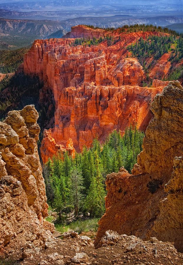 Bryce Canyon Photograph - Bryce Canyon Vista by Bob Coates