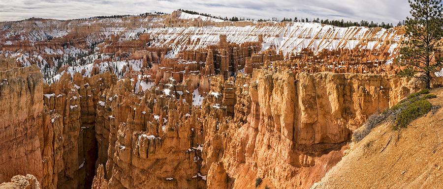Bryce Canyon Winter Panorama - Bryce Canyon National Park - Utah by Brian Harig