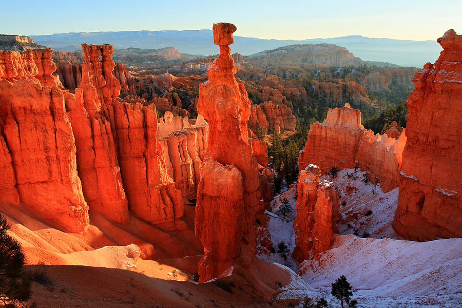 Bryce Photograph - Bryce Canyons Thors Hammer by Pierre Leclerc Photography