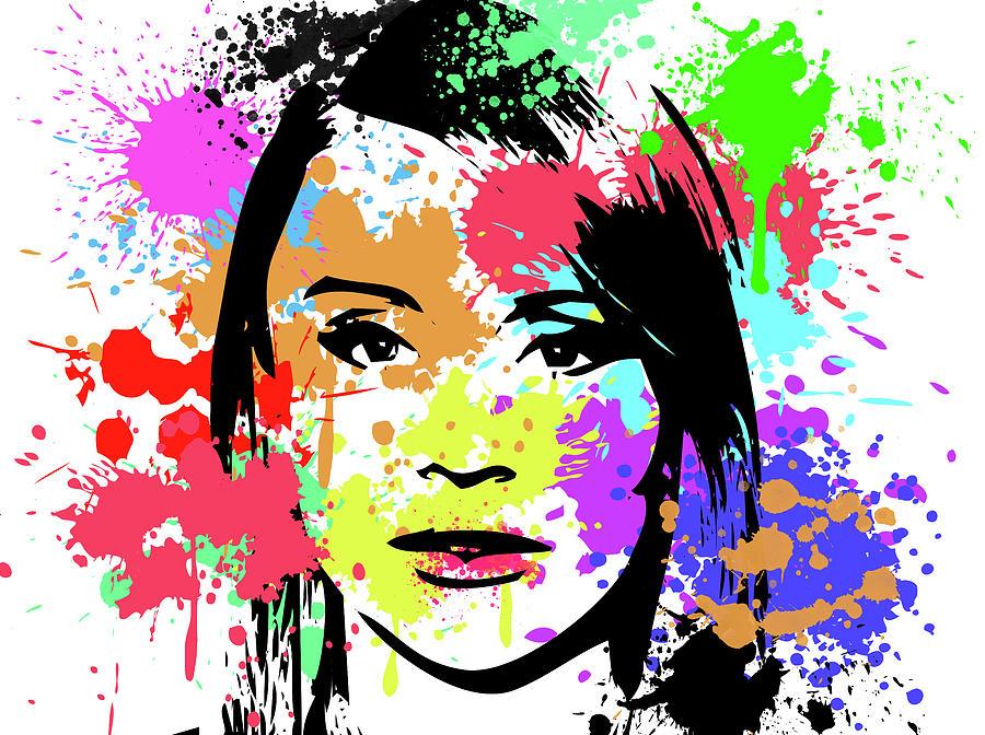 Star Digital Art - Bryce Dallas Howard Pop Art by Ricky Barnard