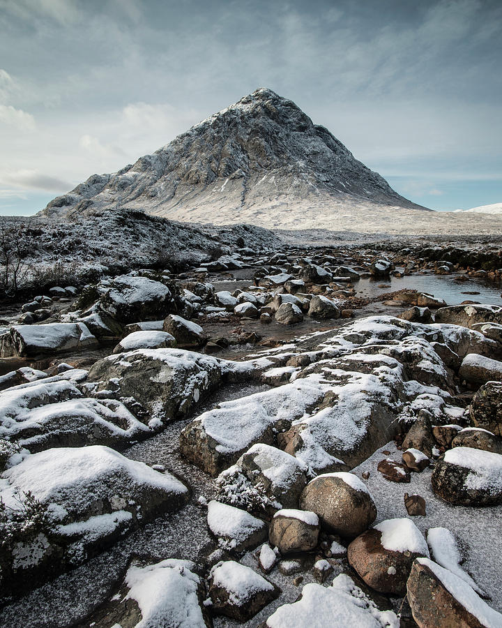 Glencoe Photograph - Buachaillie Etive Mor, Glencoe, Scotland by David Stanley