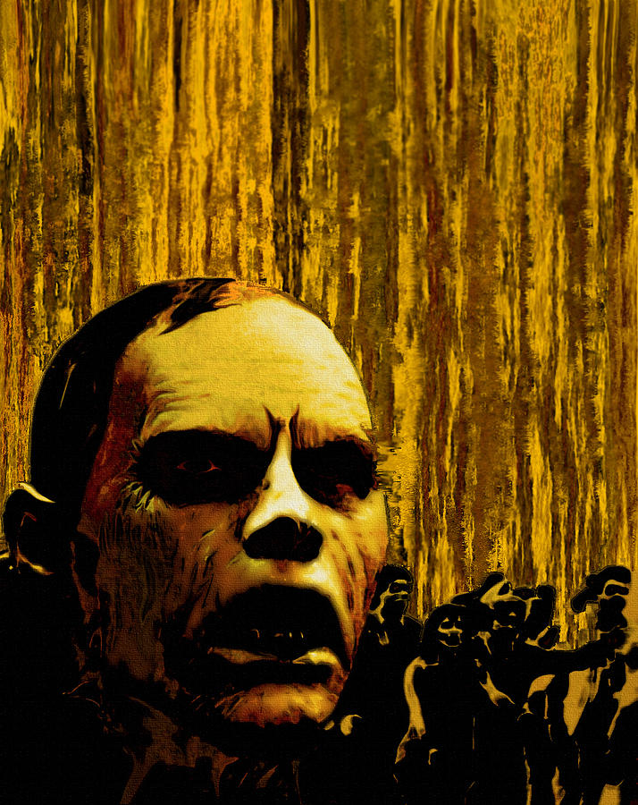 Film Art Painting - Bubb From Day Of The Dead by Jeff DOttavio