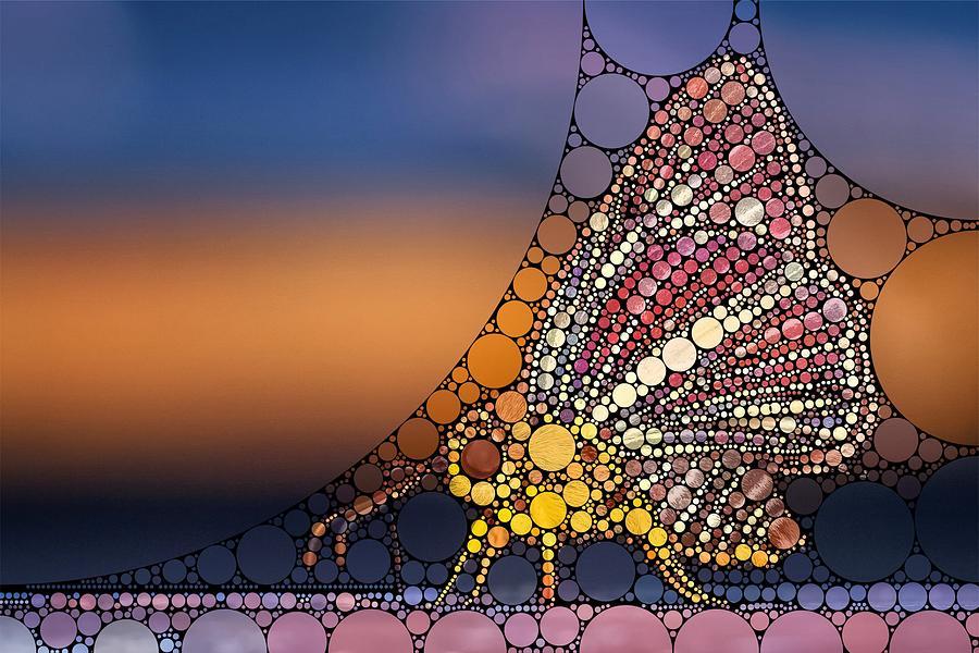 Bubble Art Butterfly Digital Art