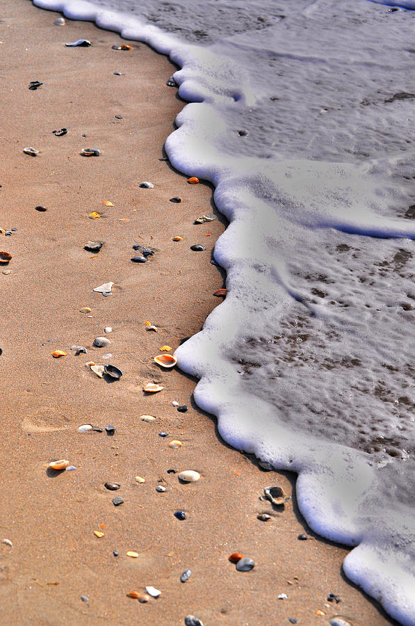 Beach Photograph - Bubble Fun by Emily Stauring