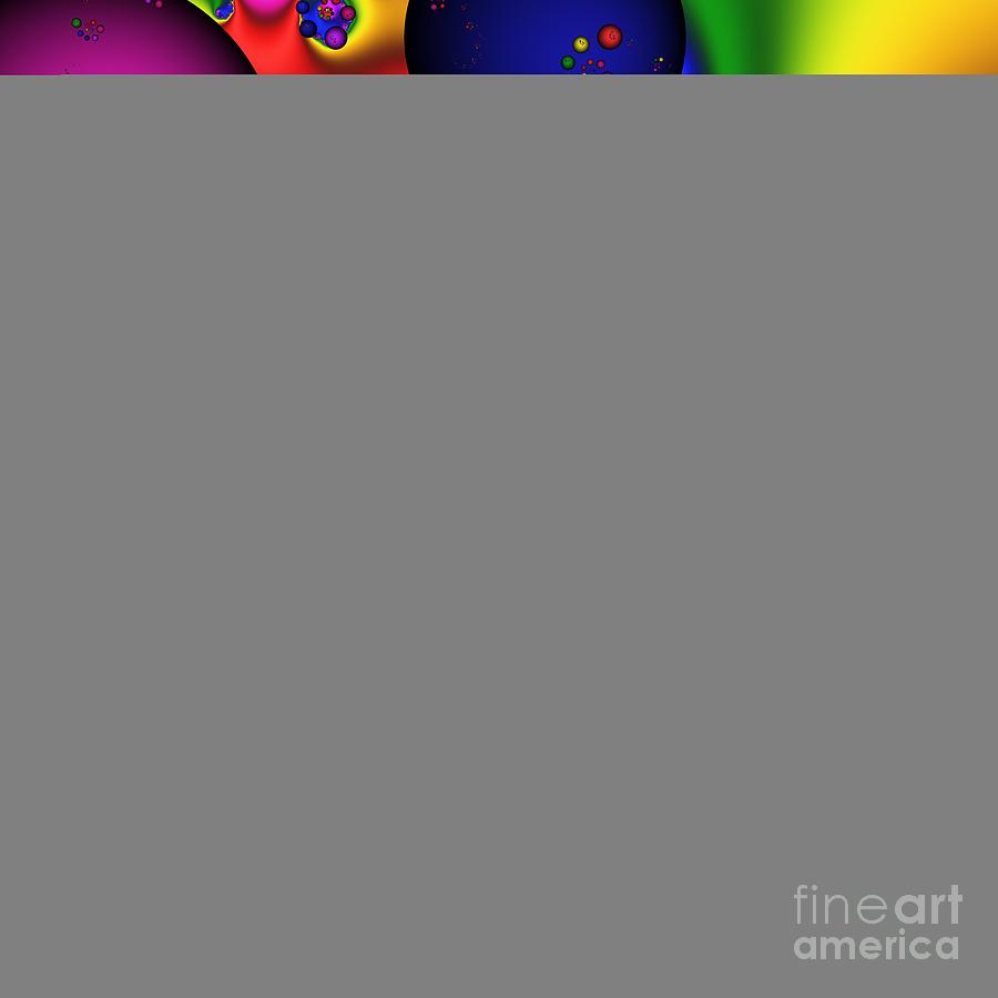 Abstract Digital Art - Bubblegum 140 by Rolf Bertram