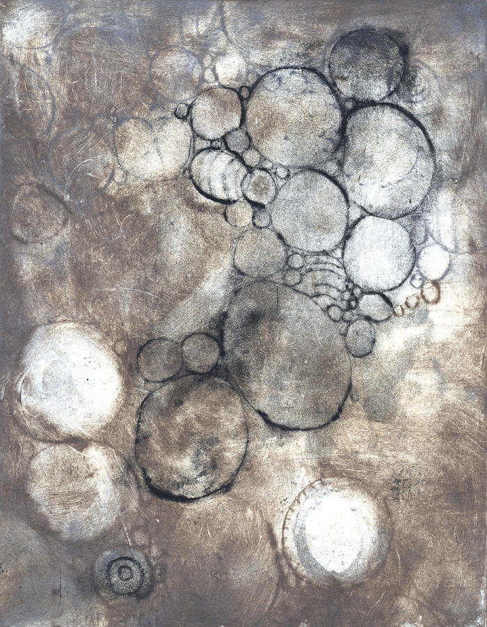 Intaglio Photograph - Bubbles by Rockstar Artworks