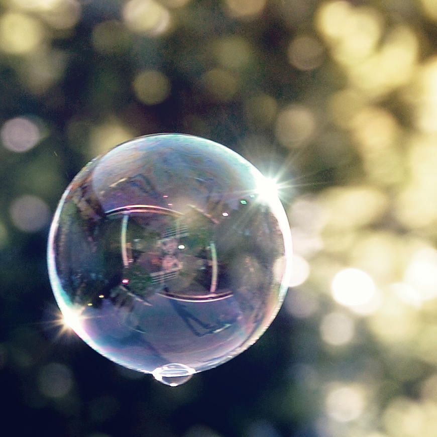 Bubble Photograph - Bubbles by Jordan Babolka