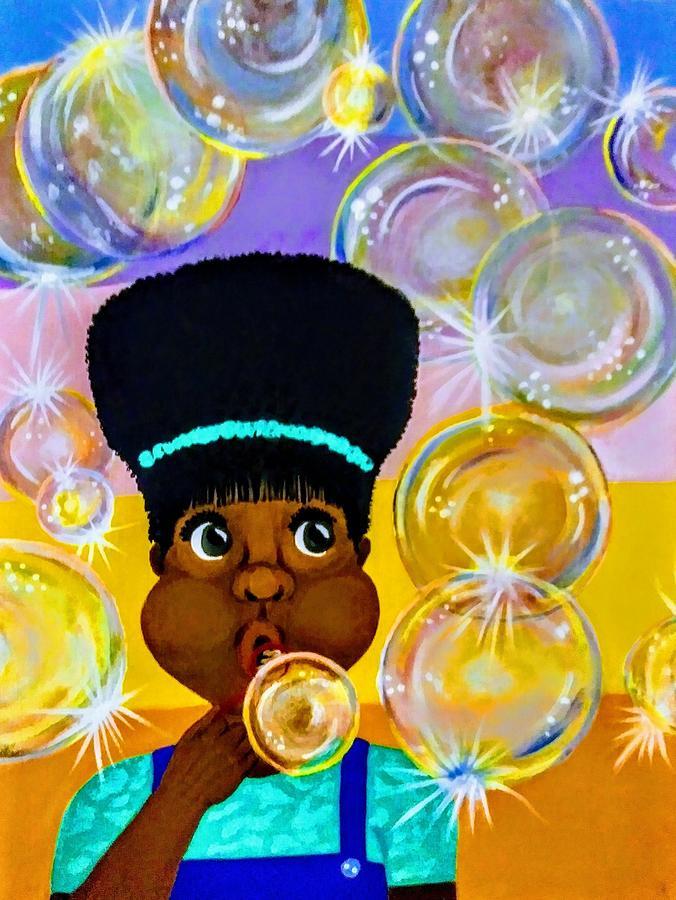 Bubbles  by Kim Raine Johnson