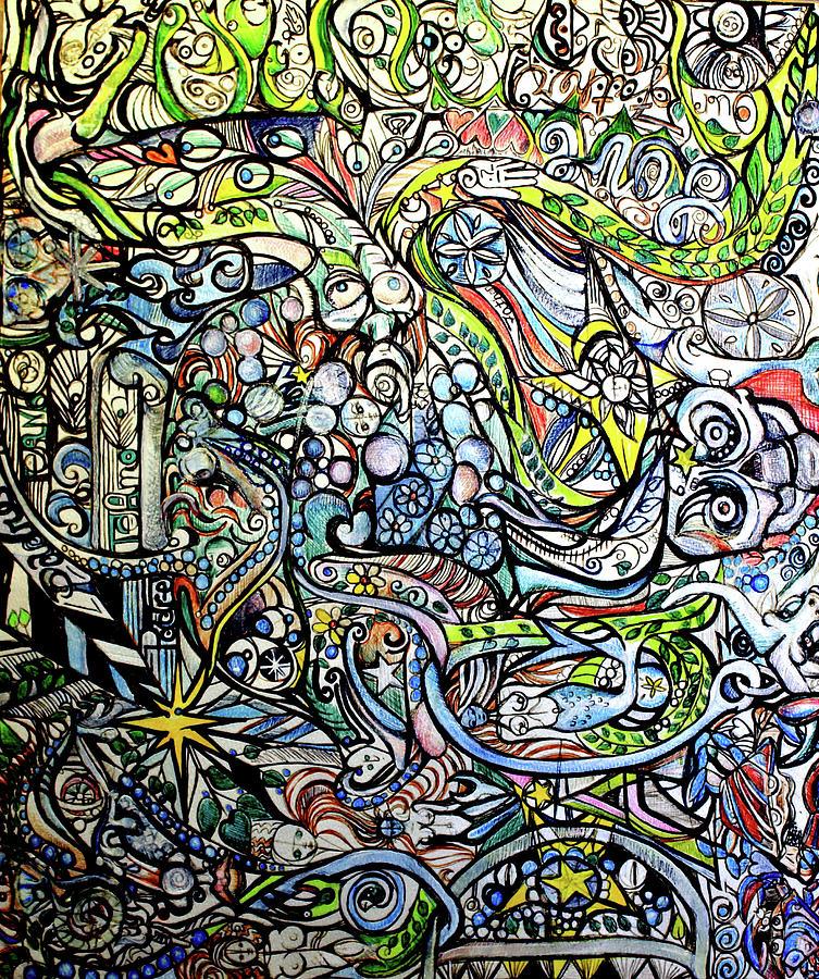 Bubbles La Rue I Painting