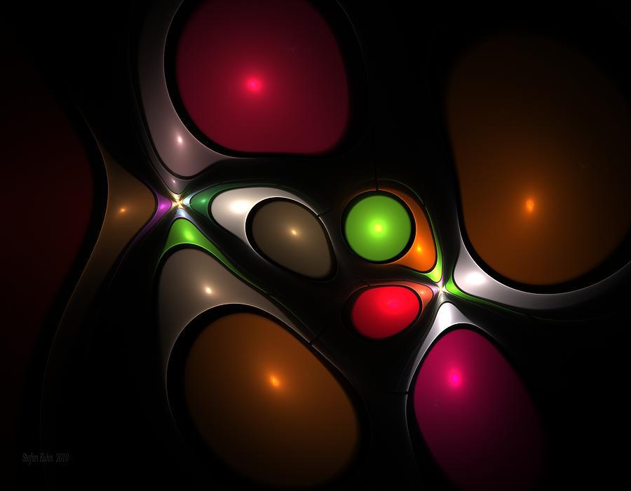 Bubble Digital Art - Bubbleshock by Steve K