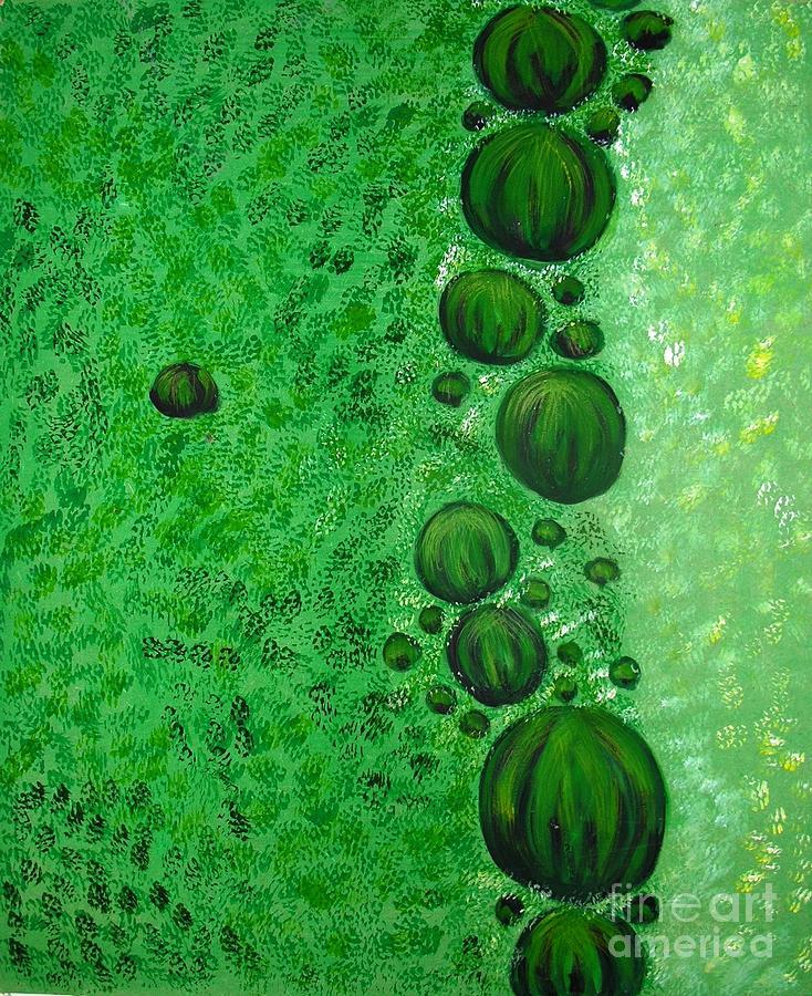 Circle Painting - Bubbly by Nyna Niny