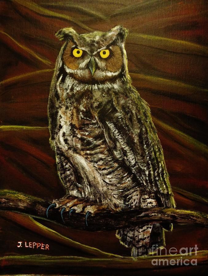 Bubo Owl of Ga'Hoole by Jack Lepper