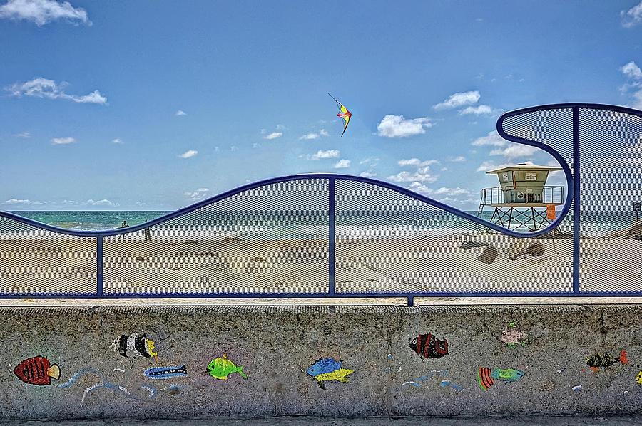 Buccaneer Beach Digital Art - Buccaneer Beach by Ann Patterson