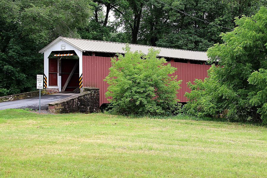 Bucher's Mill Covered Bridge by Wayne Toutaint