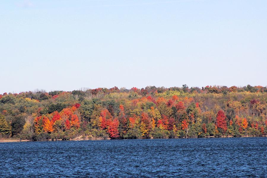 Buck Creek In October Photograph