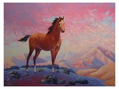 Horse Painting - Buck by Gordon Sage