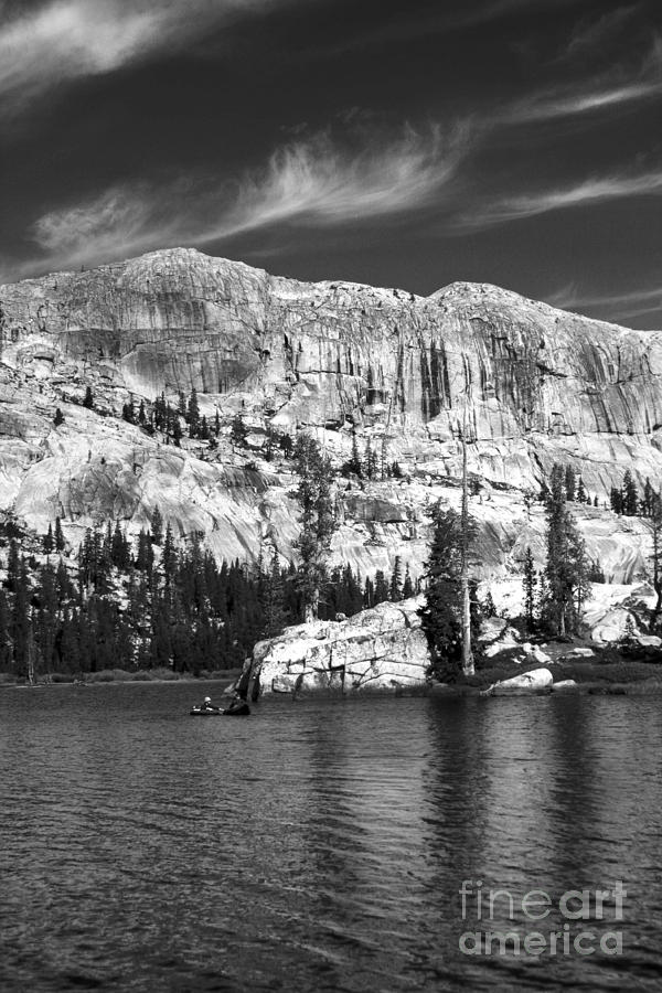 Landscape Photograph - Buck Lake - Stanislaus National Forest by Jason Sanders