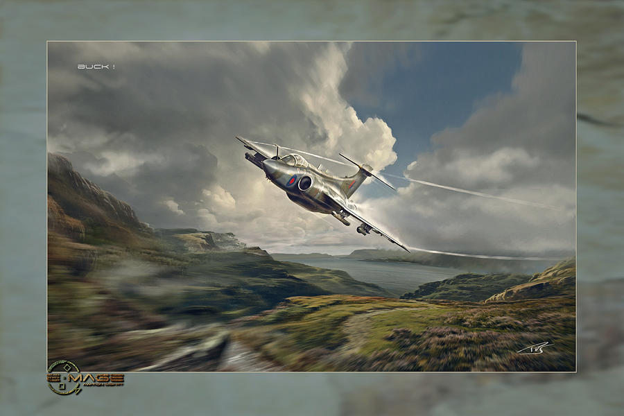 War Digital Art - Buck by Peter Van Stigt