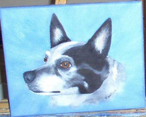 Buckaroo Painting by Nancy Waller