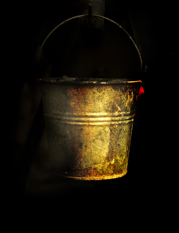 Off Grid Photograph - Bucket One by Clyde Replogle