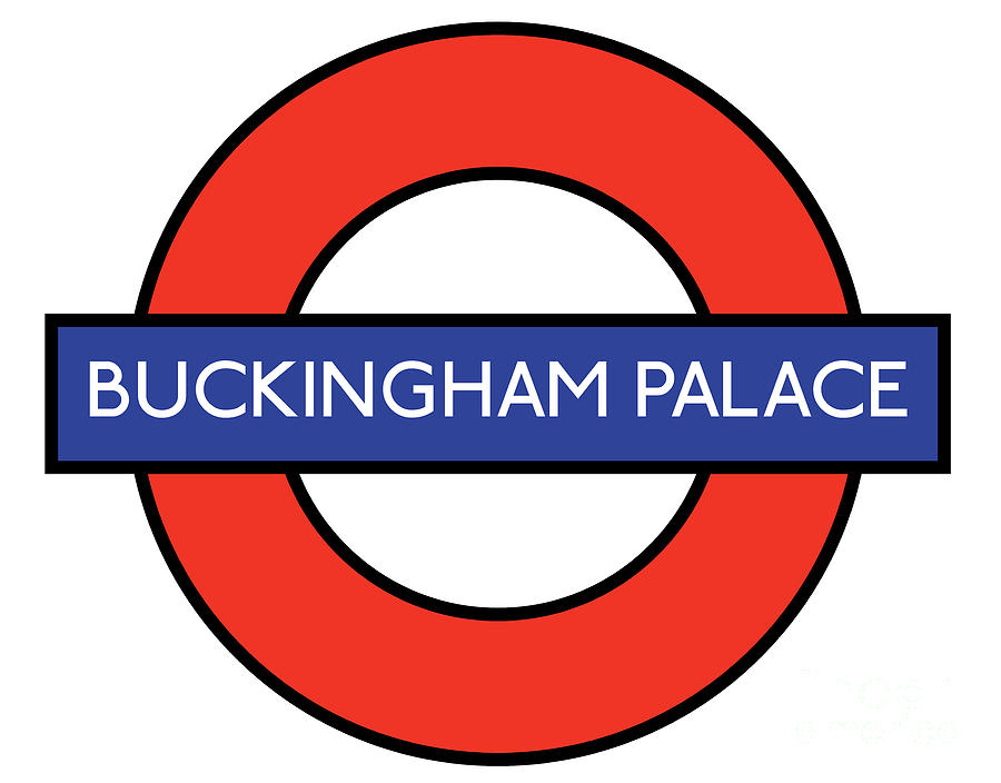London Digital Art - Buckingham Palace by Bigalbaloo Stock