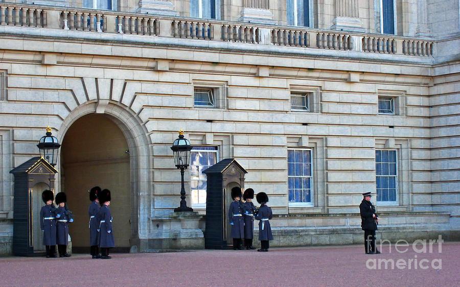 London Photograph - Buckingham Palace Guards by Madeline Ellis