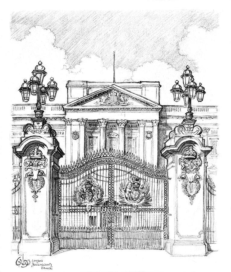 Картинки букингемского дворца для срисовки, картинки лешего