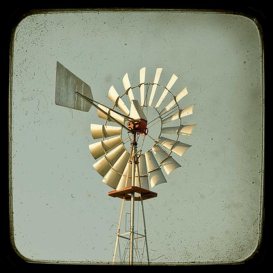 Windmill Photograph - Bucks County Windmill by Carl Christensen IntegrityStudio