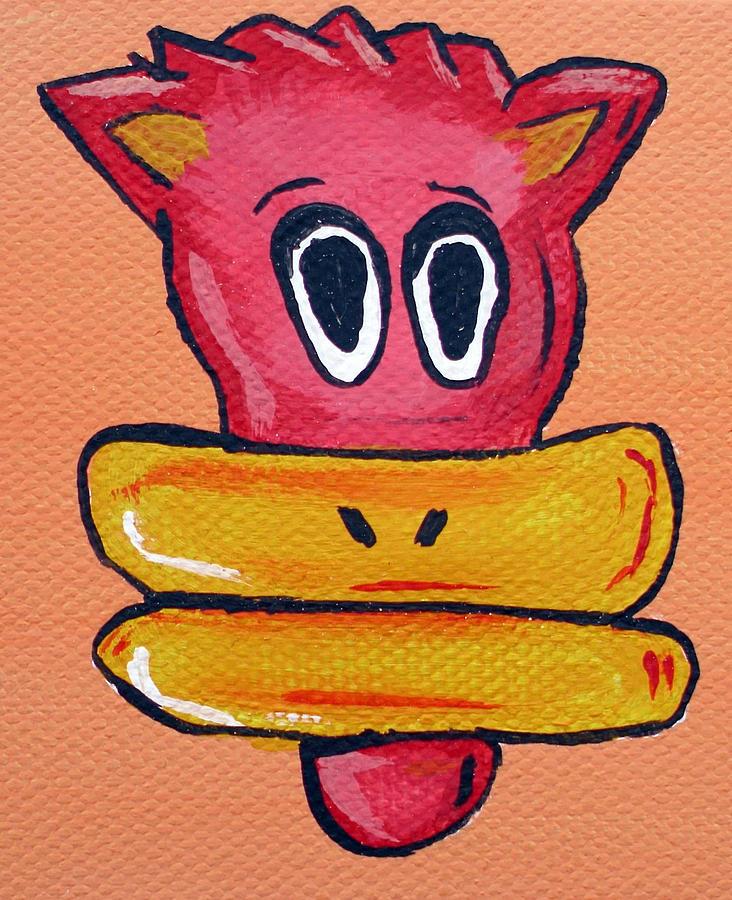 Bucky  Painting by Jera Sky