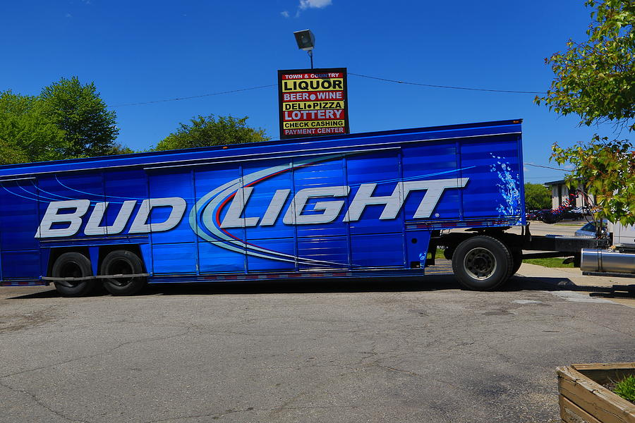 Bud light photograph by melvin busch beer truck photograph bud light by melvin busch mozeypictures Gallery