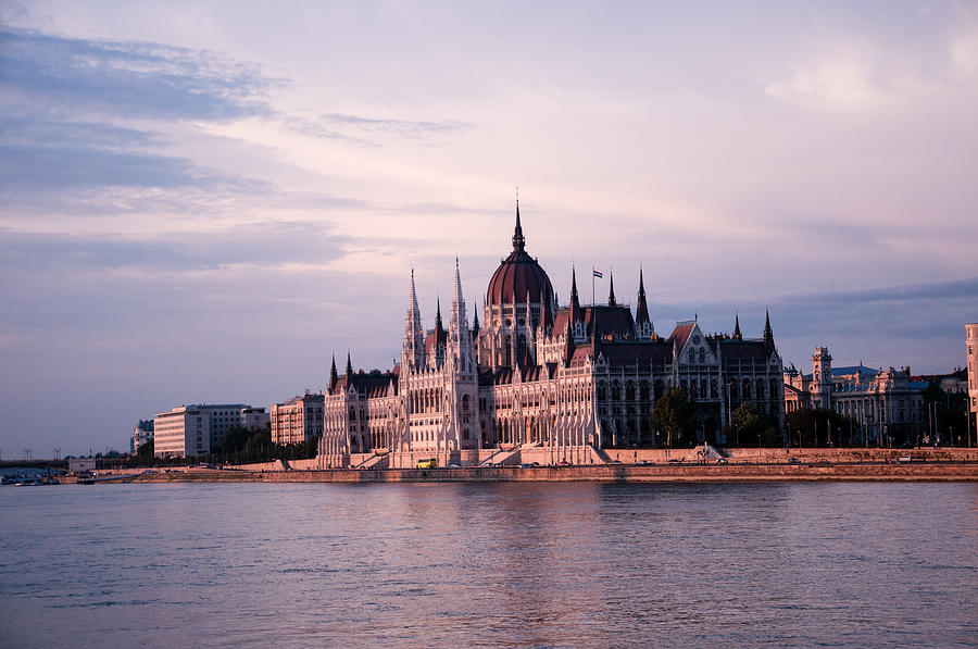 Budapest Parliament Building Photograph - Budapest Parliament by Freepassenger By Ozzy CG