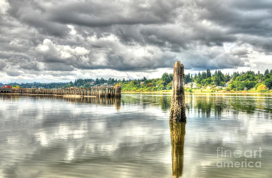 Budd Bay Piers by Sarah Schroder