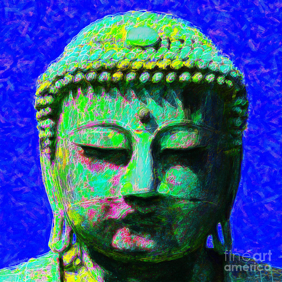Religion Photograph - Buddha 20130130p18 by Wingsdomain Art and Photography