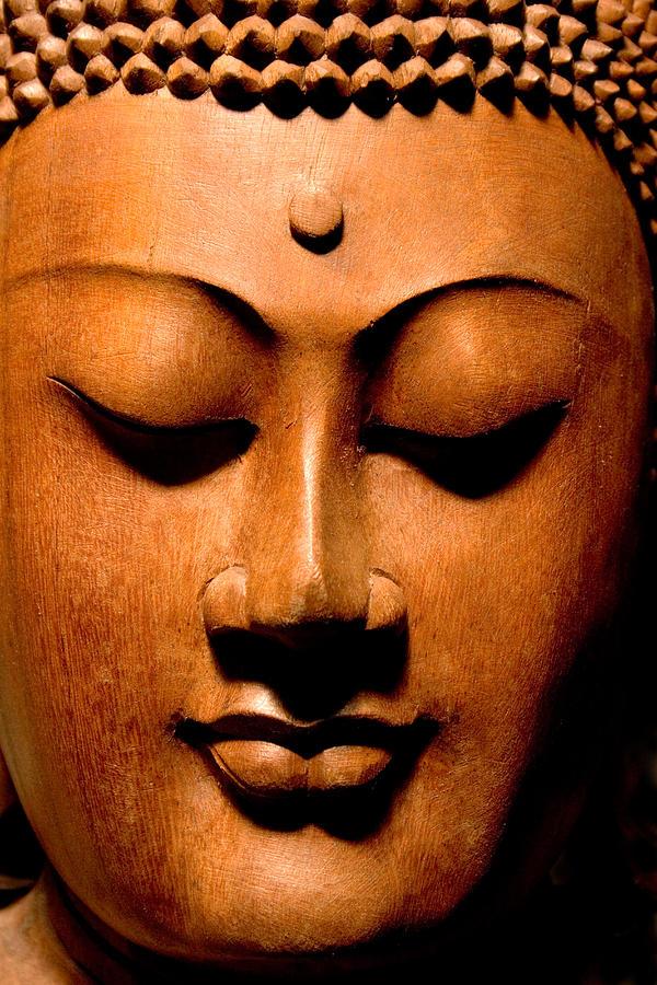 Buddha Photograph - Buddha Calm by Carol Leigh