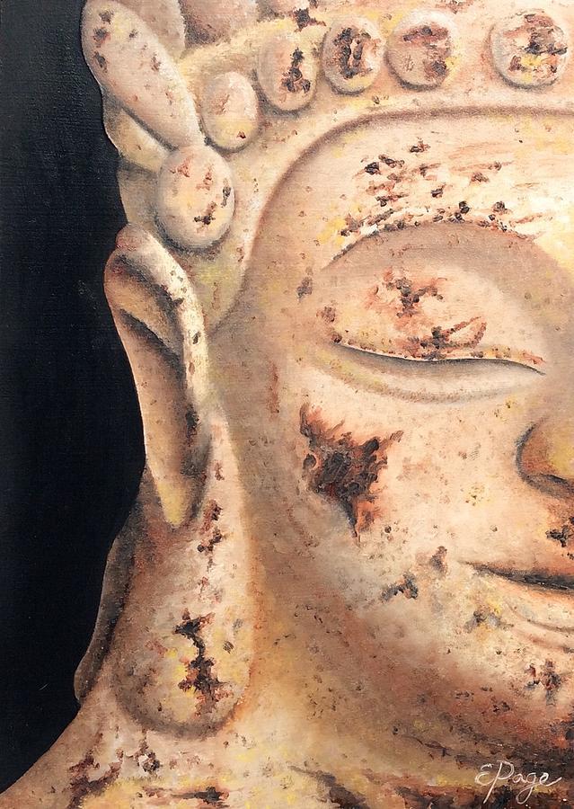 Buddha Painting - Buddha by Emily Page