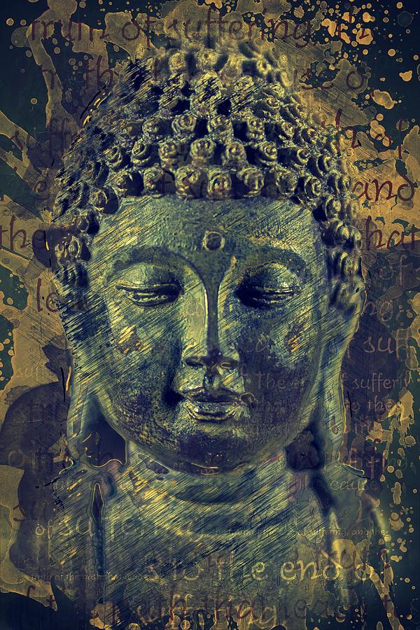 Buddha Photograph - Buddha End Of Suffering by Ray Van Gundy