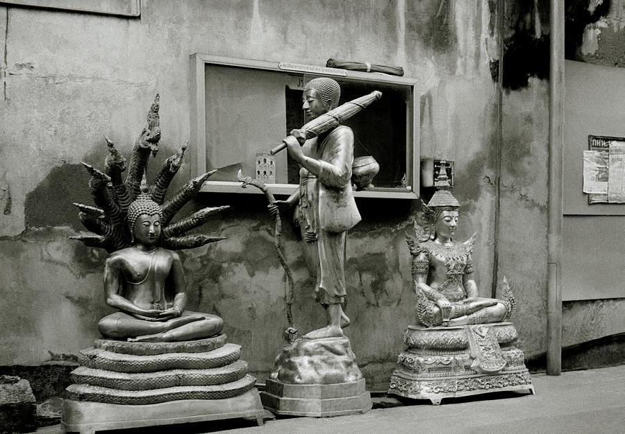 Buddha In The Urban Space by Shaun Higson
