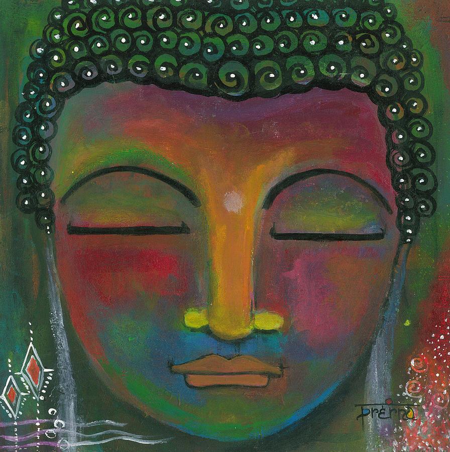 Buddha Painting Painting by Prerna Poojara