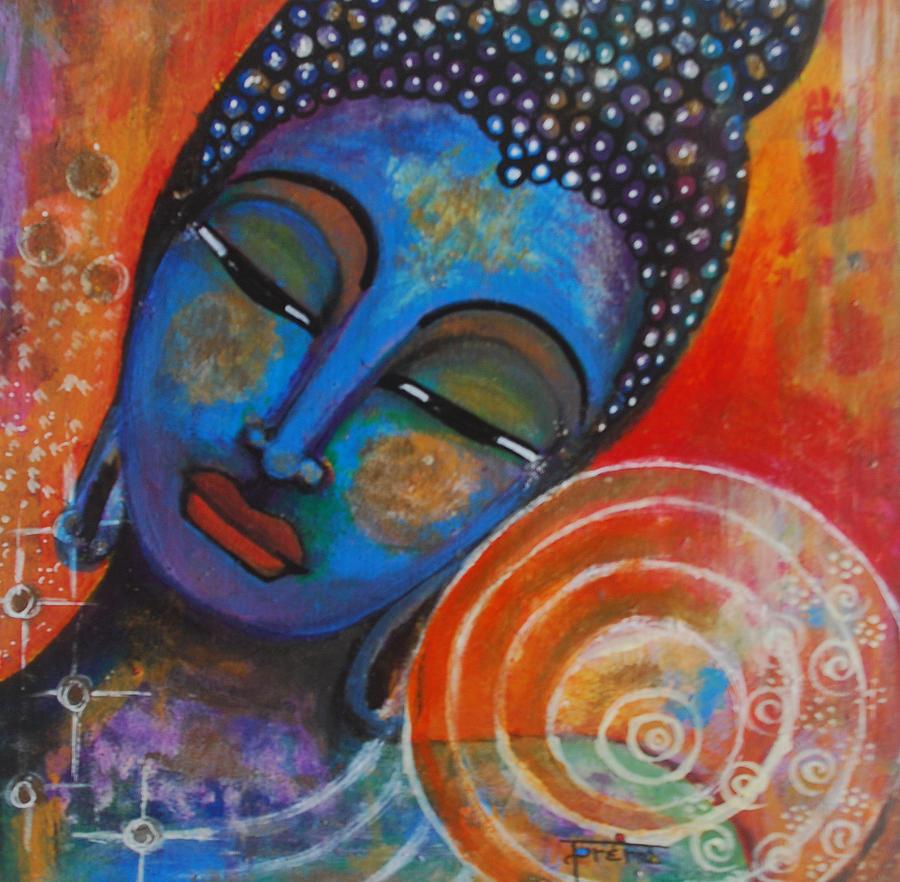 Buddha Painting - Buddha by Prerna Poojara