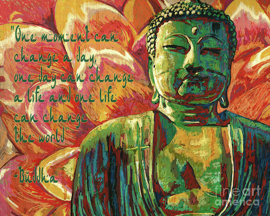 Buddha Quote by Maria Arango