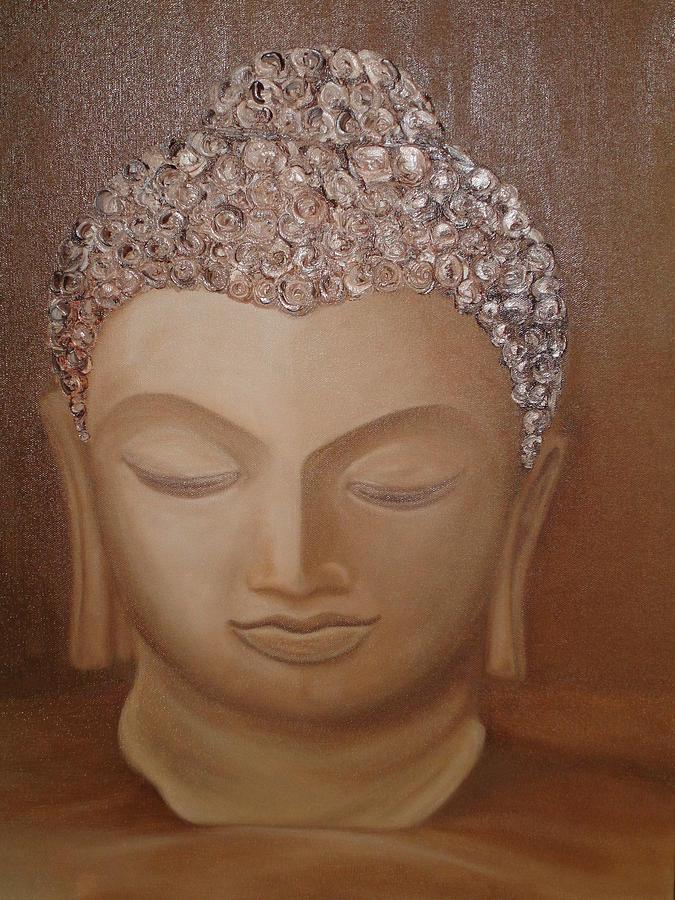 Buddha Painting by Rupavani Talari
