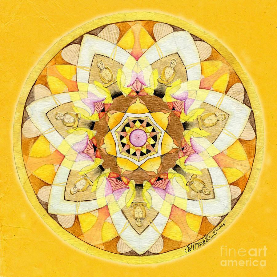 Buddha Sun Mandala by Jo Thomas Blaine